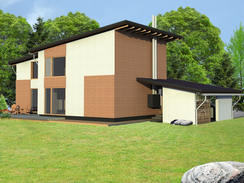 двухэтажный панельный дом