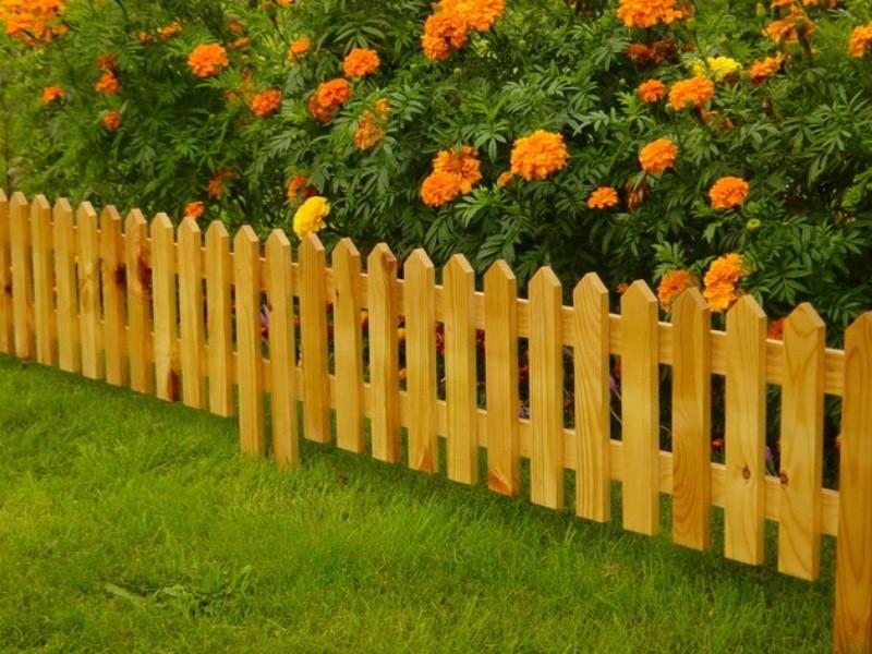 деревянная для оранжевых цветов