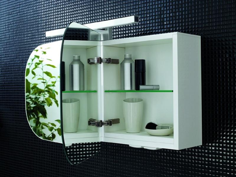 дизайнерский настенный шкаф