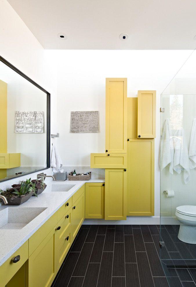 желтый подвесной