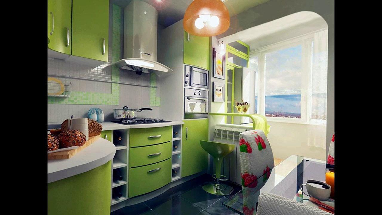 Дизайн малогабаритной кухни: фото.