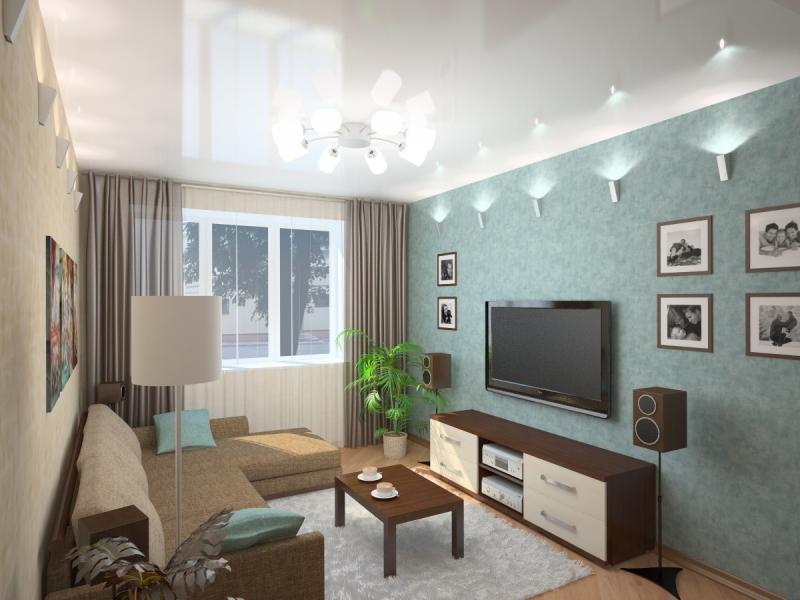 картины на стене гостиной
