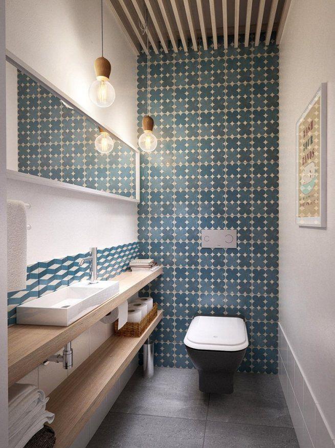 квадратная плитка для туалета