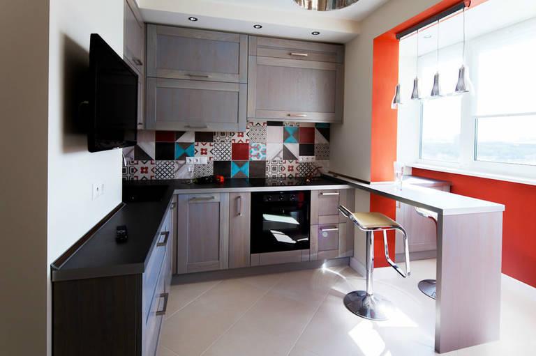 креативное оформление кухни