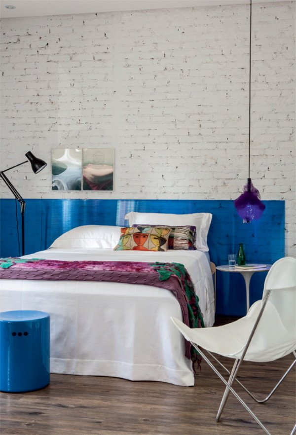 натуральны материалы в оформлении спальни