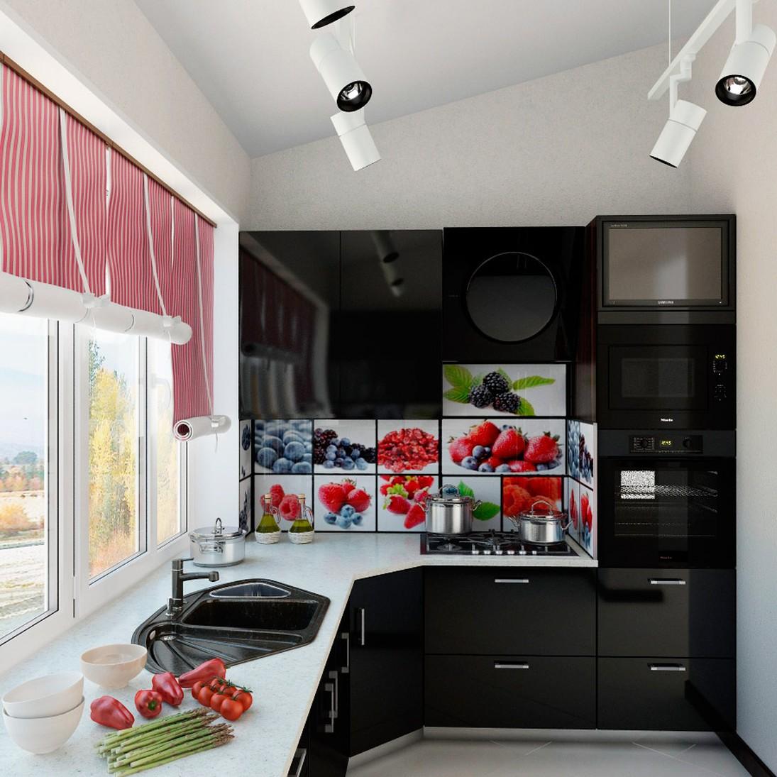 Дизайн кухни вместе с балконом дизайн кухни - фото, описание.