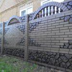 Забор на дачном участке: 100 оригинальных идей