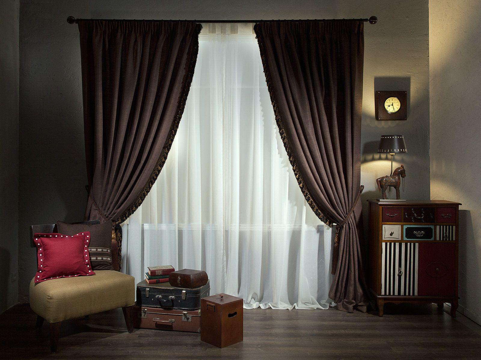 100 интересных идей дизайна: современные шторы на фото