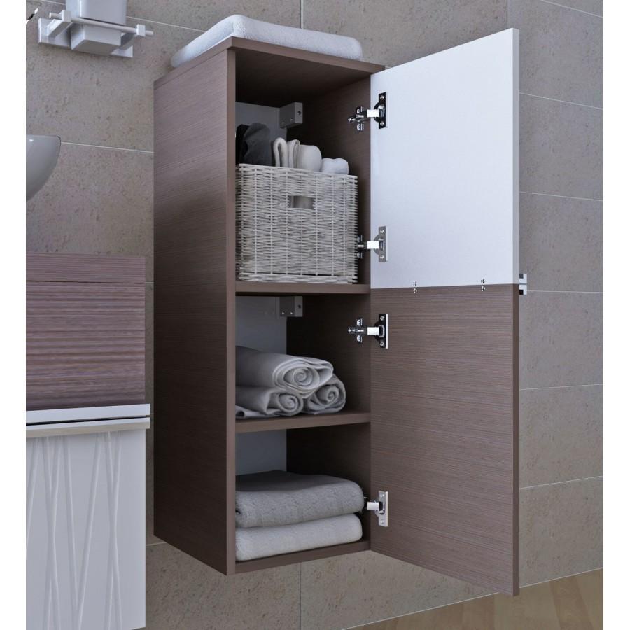 стильный шкаф для ванной