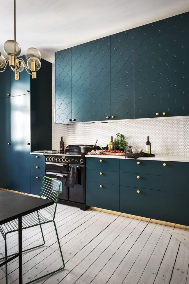 цвет морской волны в декоре квартиры и мебели