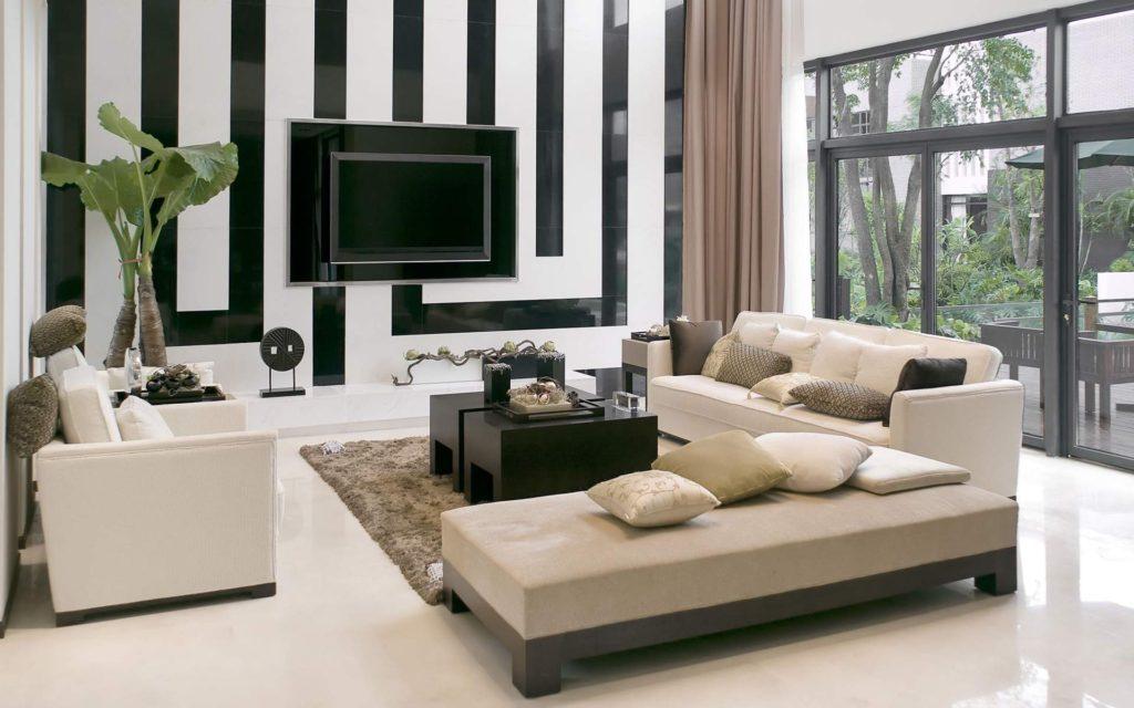 черно-белый модерн