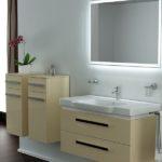 Эстетически привлекательные шкафы для ванной комнаты