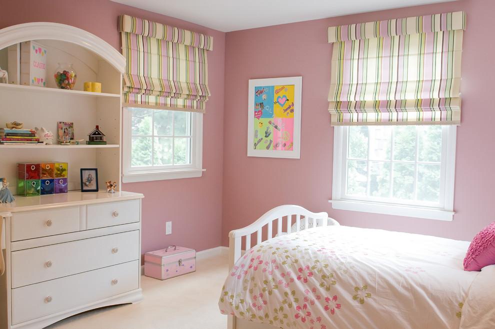 шторы рулонного типа в детской