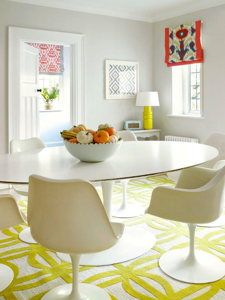 яркие рулонные шторы для кухни