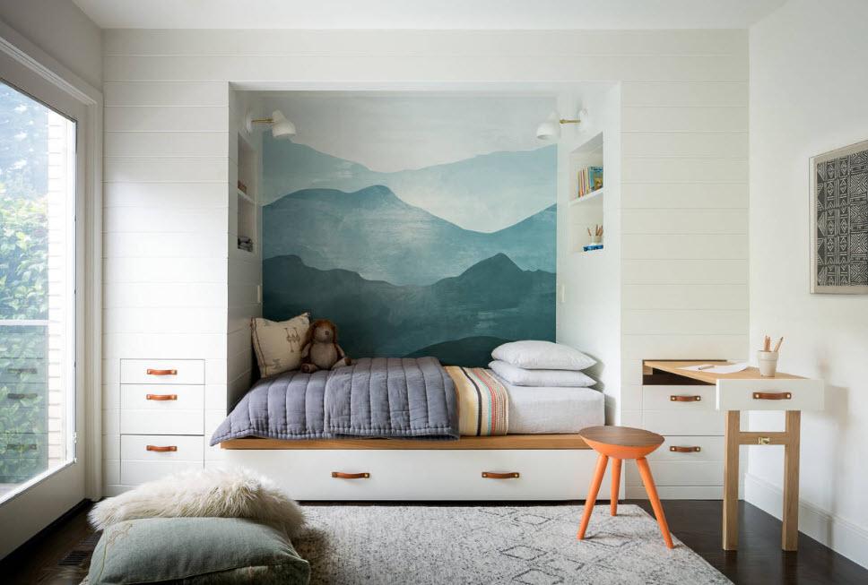 Встроенный мебельный комплекс