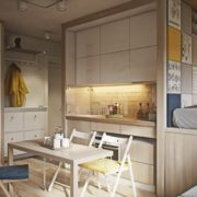 мебель для кухни: компактные складные стулья