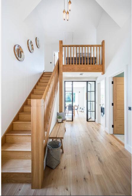 Дизайн пространства у лестницы