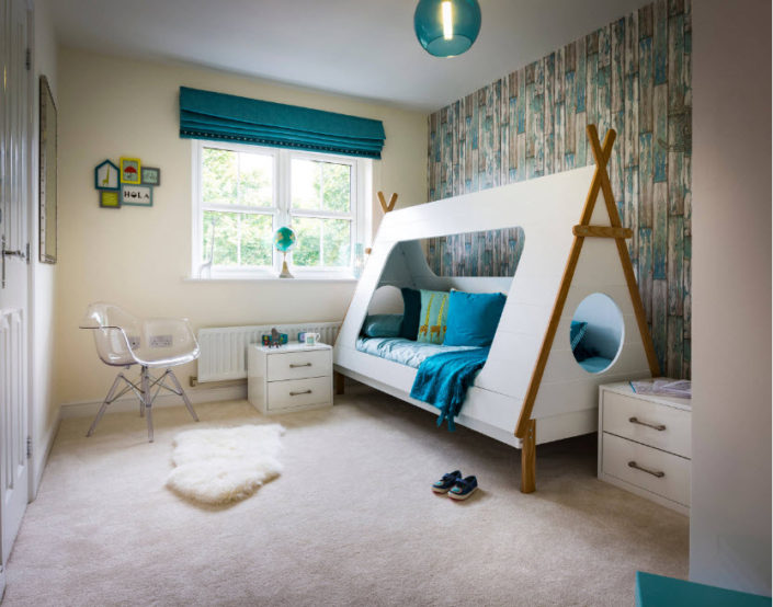 Современный дизайн детской комнаты