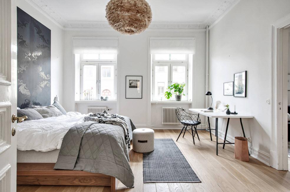 Спальня и кабинет