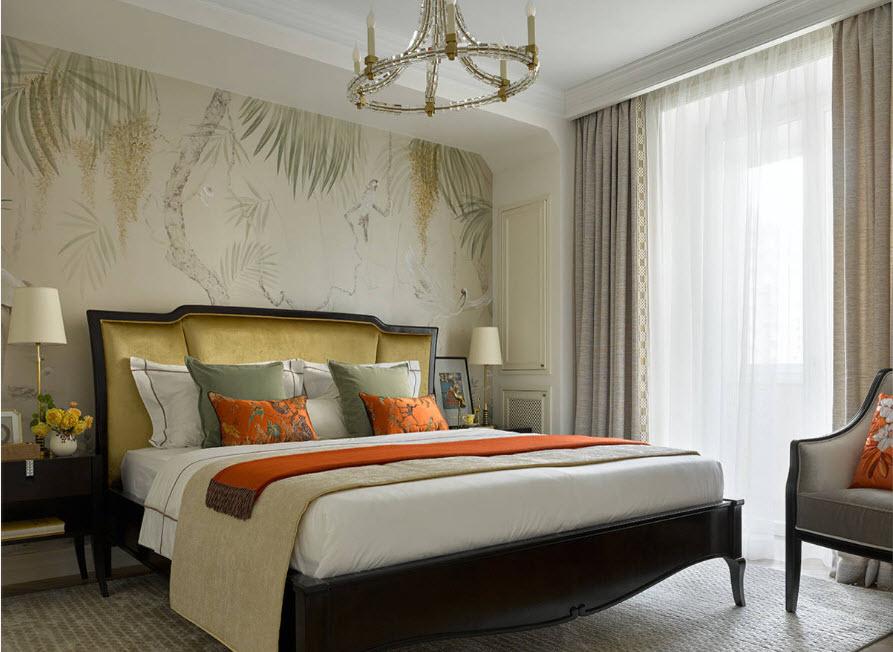 Спальня в традиционном стиле