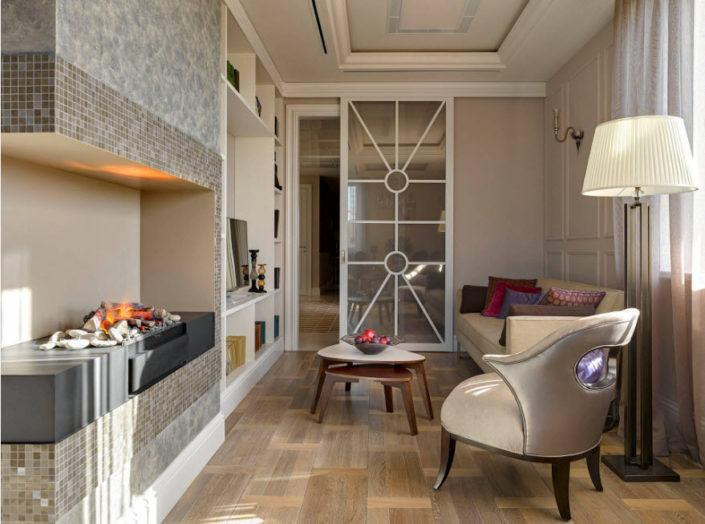 Интерьер современной гостиной в 2018 году
