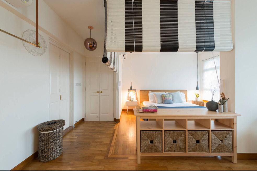 Спальня в общем помещении