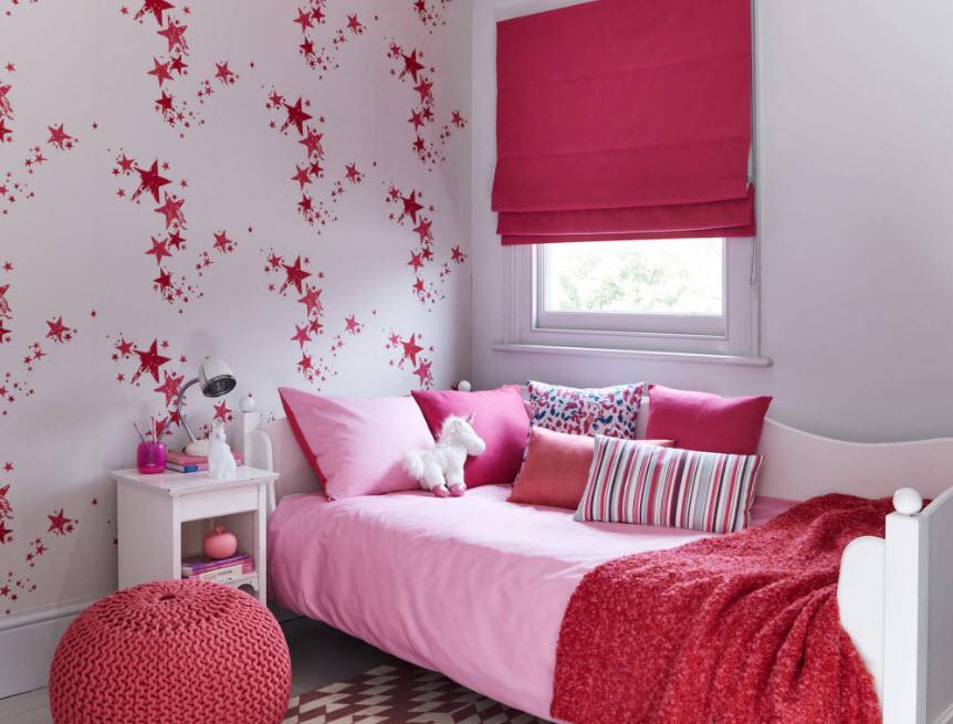 Яркая комната для девочки