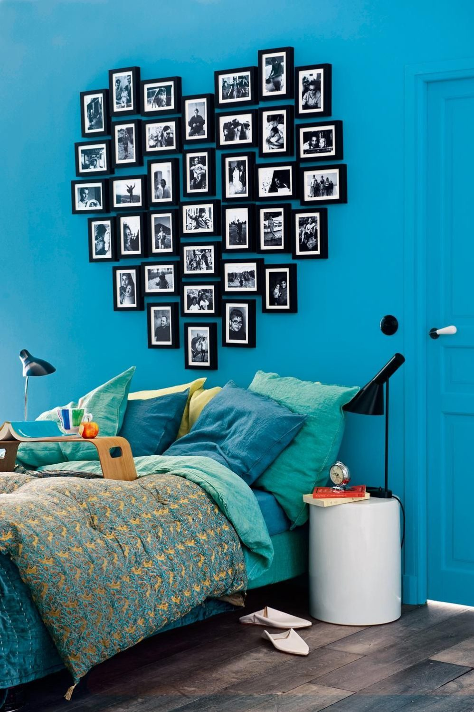 Украсить стену в комнате идеи фото