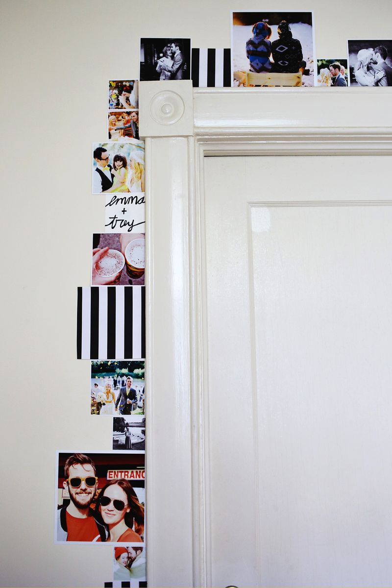 line-a-door-frame-with-photos
