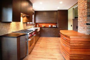 стильная многофункциональная встроенная кухня