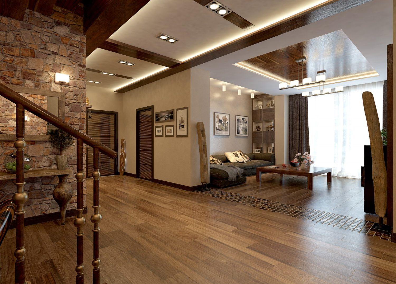 Дизайн домов и коттеджей внутри