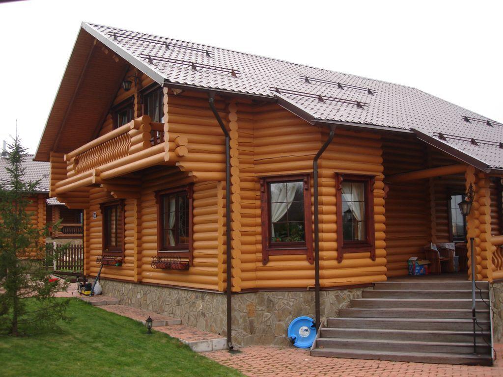 домик для дачи из бруса