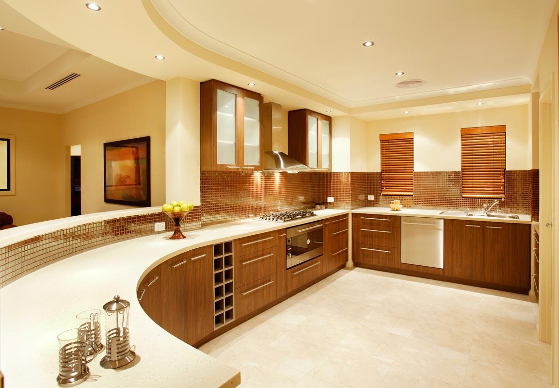кухня стильного коттеджа