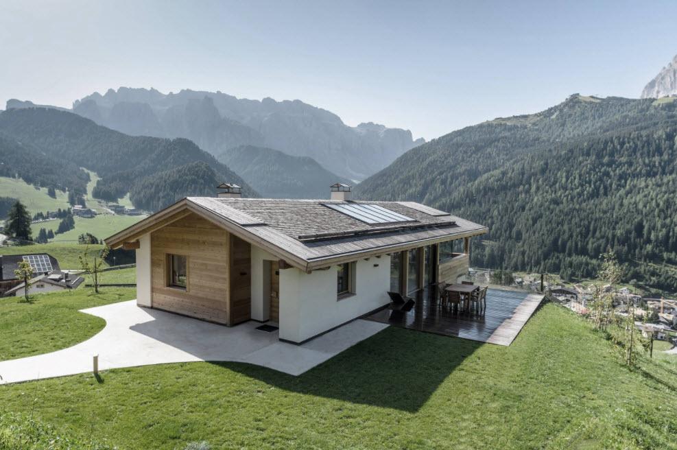 маленький домик в горах