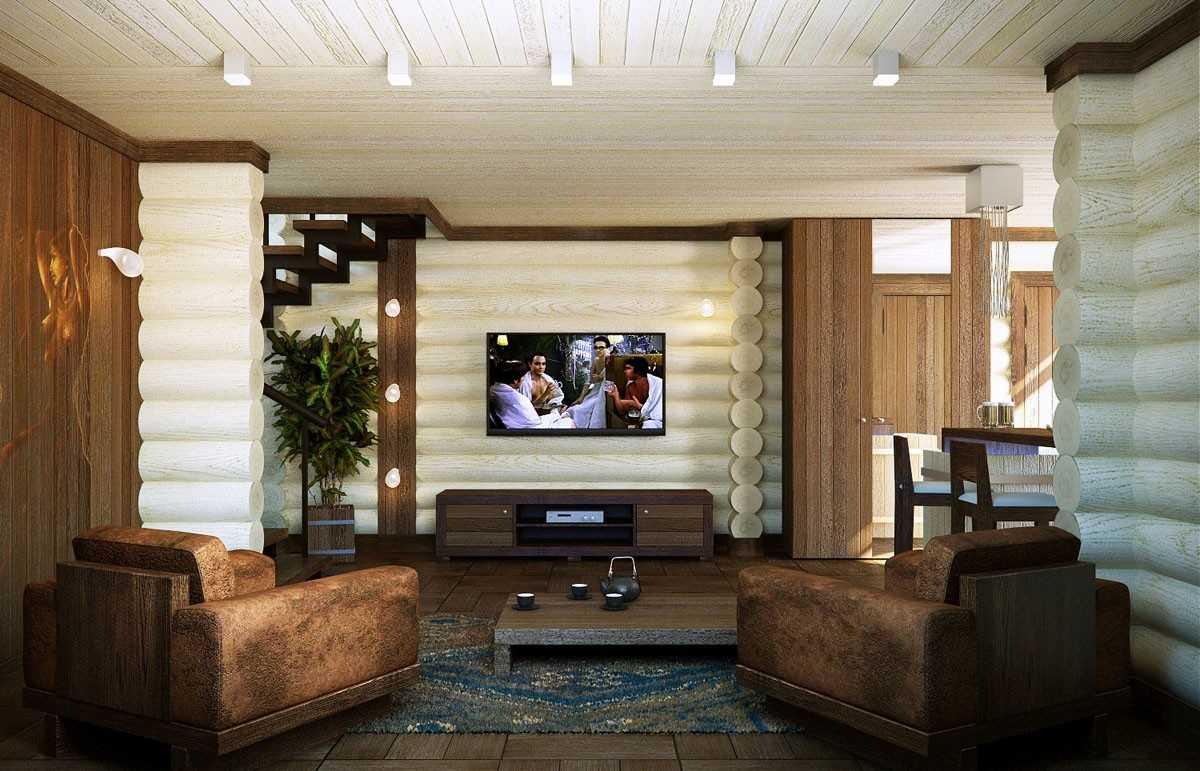 современный белый деревянный дом