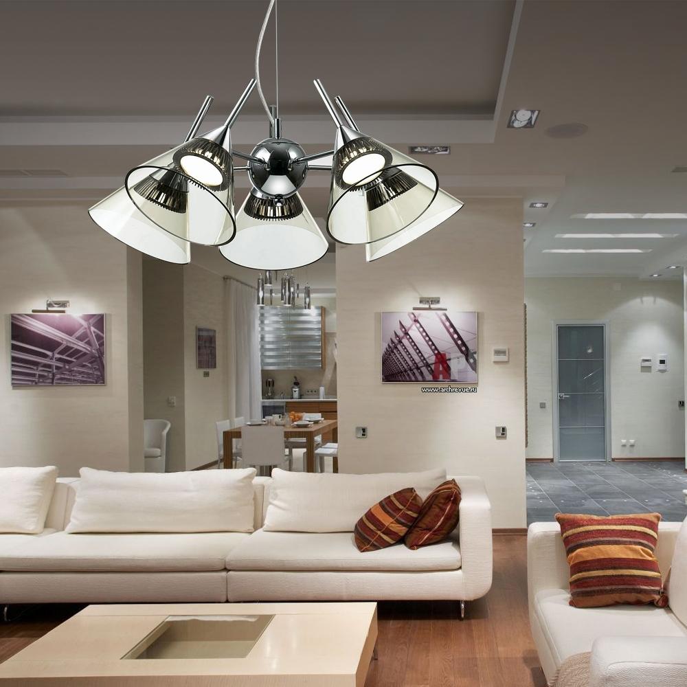 Напольный торшер – стильный штрих в современном интерьере