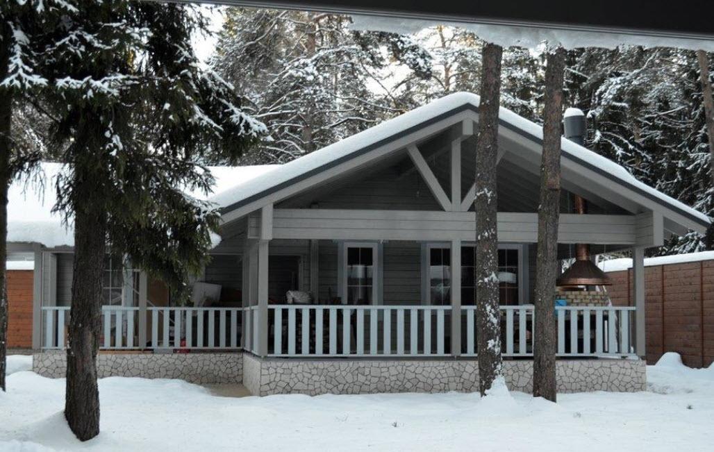 уютный загородный домик