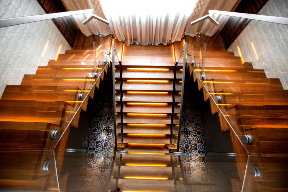 шикарная лестница