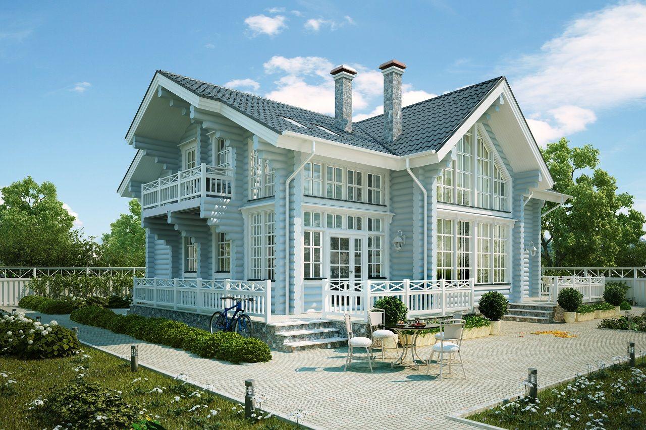 шикарный дачный дом