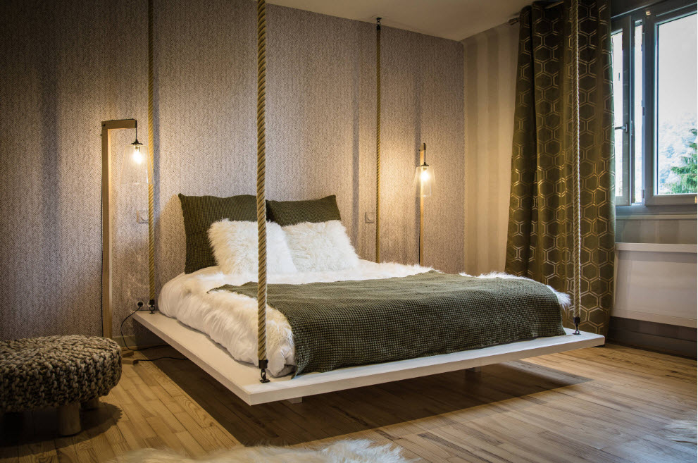 Необычное спальное место