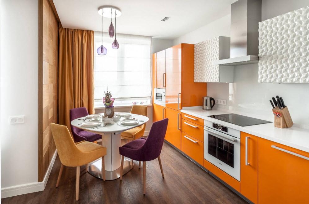 Яркий дизайн современной кухни