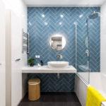 Модная плитка 2018: актуальный дизайн ванной комнаты