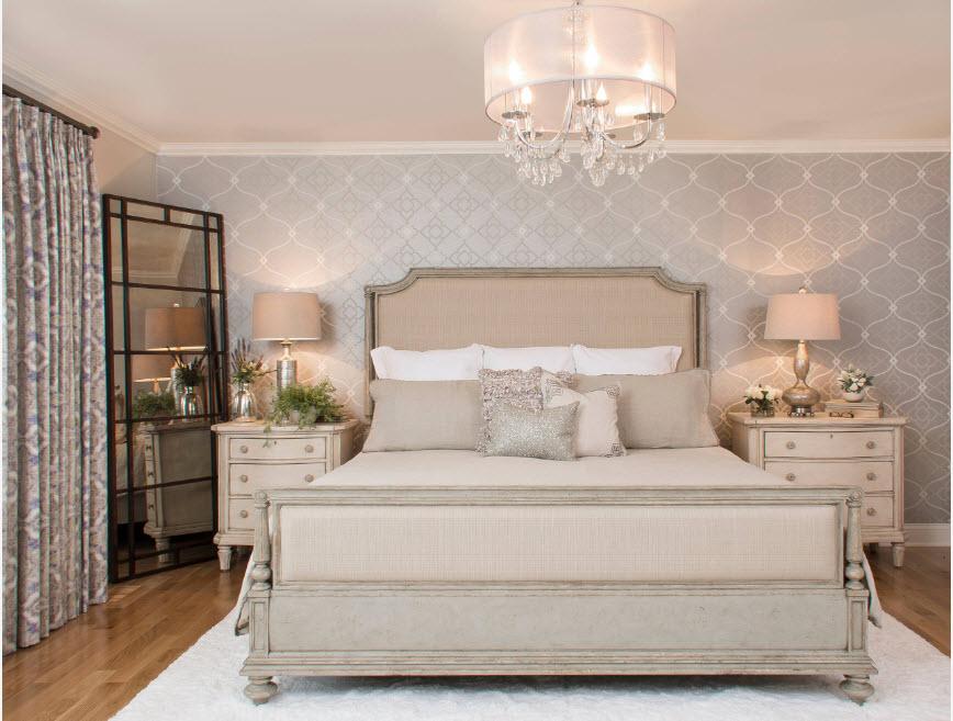 Нео-классика в интерьере спальни