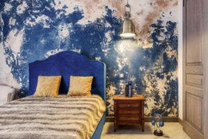Дизайн обоев для современной спальни