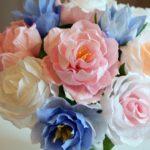 Цветы из бумаги: пошаговые мастер-классы своими руками