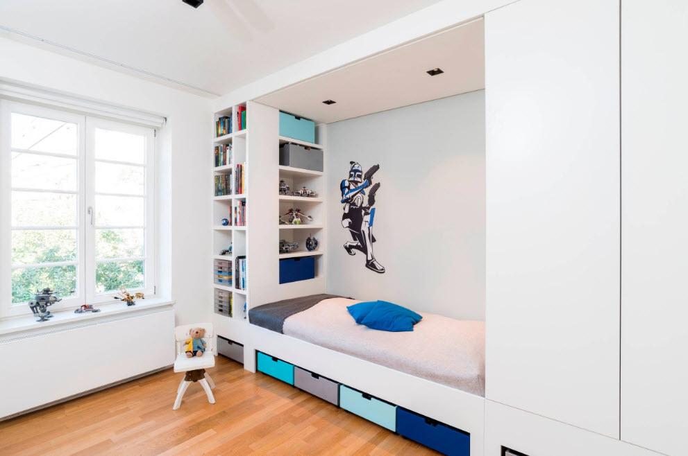 Встроенный спальный комплекс