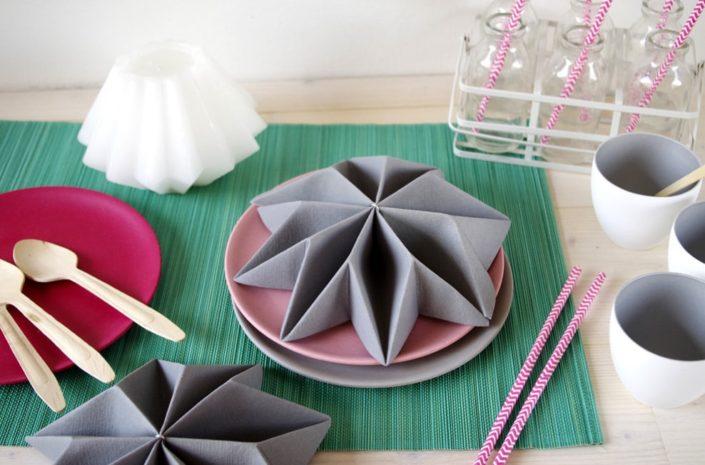 Салфетка-оригами