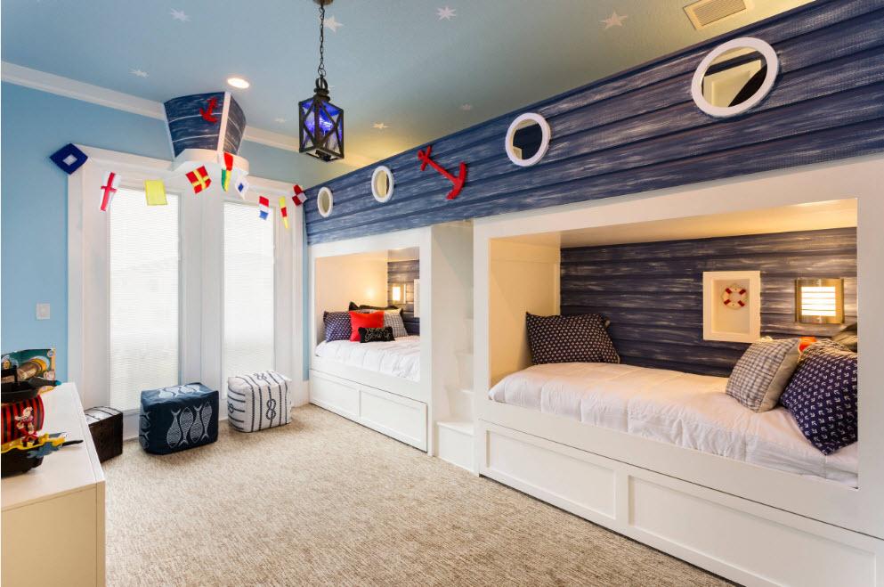 Встроенные спальные места