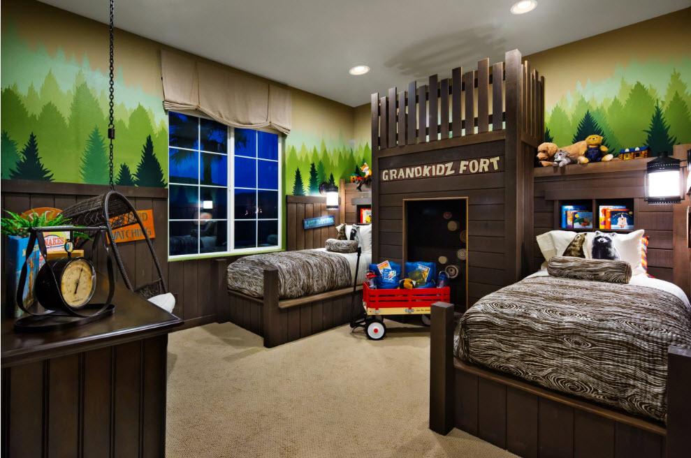 Необычная мебель для детской