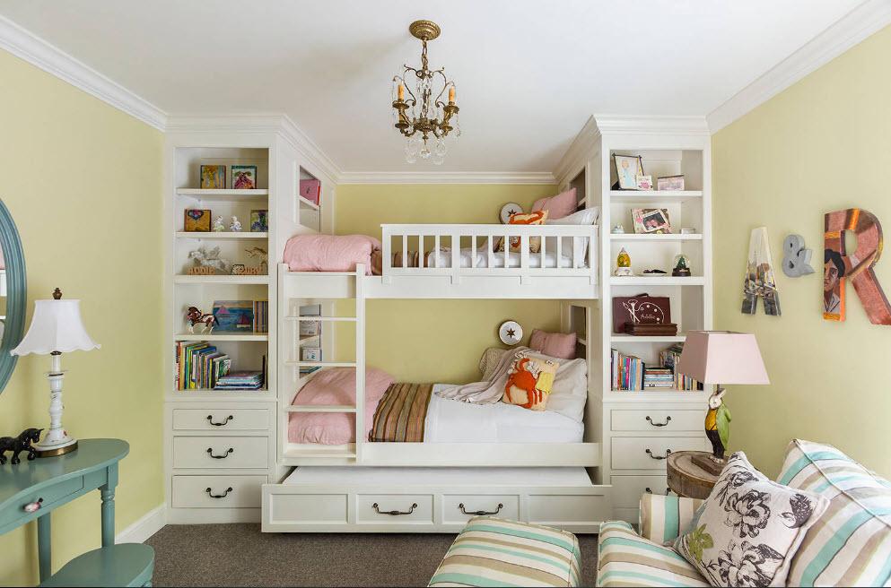 Дизайн комнаты для девочки: идеи 2018 года